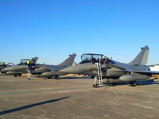 IAF chief to receive Rafales in Ambala on July 29