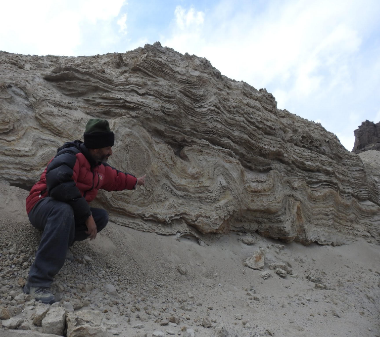 1000 years earthquake signatures found for the first time in Spituk Lake Ladakh.