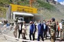 CM directs to expedite work of Atal Tunnel