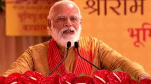 English rendering of PM's address on the occasion of laying of foundation stone of Ram Mandir at Ram Janmabhoomi, Ayodhya