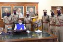 Six newly appointed trainee IPS officers Haryana cadre courtesy call met Governor, Satyadeo Narain Arya