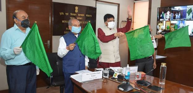 Inaugural run of 'Devlali-Danapur Kisan Rail' flagged off