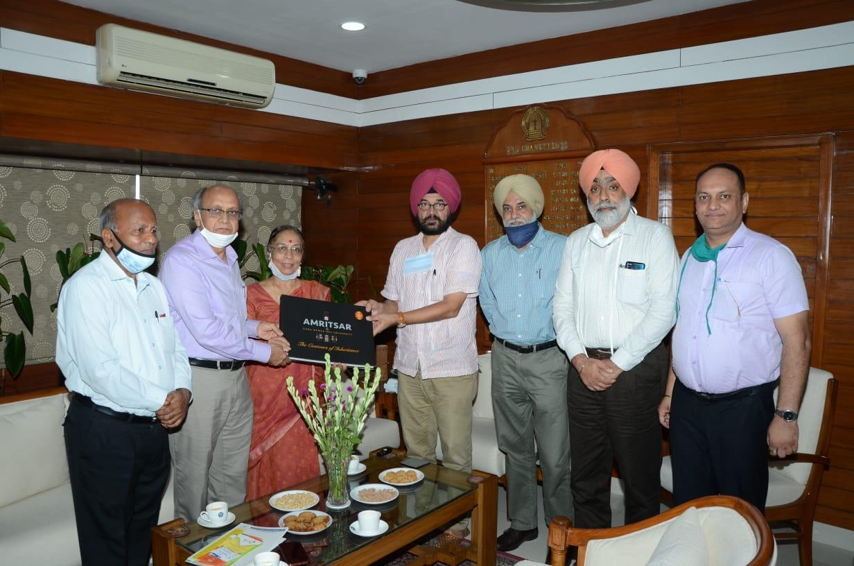 Sioux-Science Club, GNDU Signs MoU with Society for Promotion of Science and Technology in India