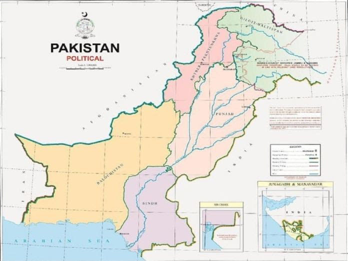 Pakistan's new map an exercise in political absurdity, says India