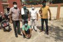 50 लाख रुपए की रंगदारी मांगने के मामले का मास्टर माइंड गिरफ्तार