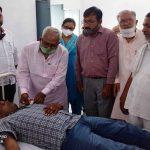 रक्तदान से जरूरमंद मरीज को मिलता है दूसरा जीवन : मंत्री ओमप्रकाश
