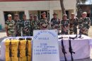 BSF seizes Arms and Annunution in Abhor Sector Indian Border
