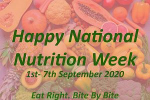National Nutrition Week: A Step Towards Healthy Eating