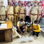 City Police bust gang of looters, recover weapons