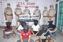 कमिश्नरेट पुलिस ने हथियारों की सप्लाई करने वाले अंतर्राज्यीय गैंग के सात सदस्य किए गिरफ्तार