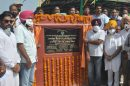 Pargat Singh dedicates New Fruit & Vegetable Market