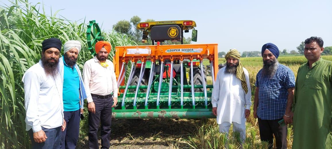 Farmer Evinces interest in Superseeder Machines