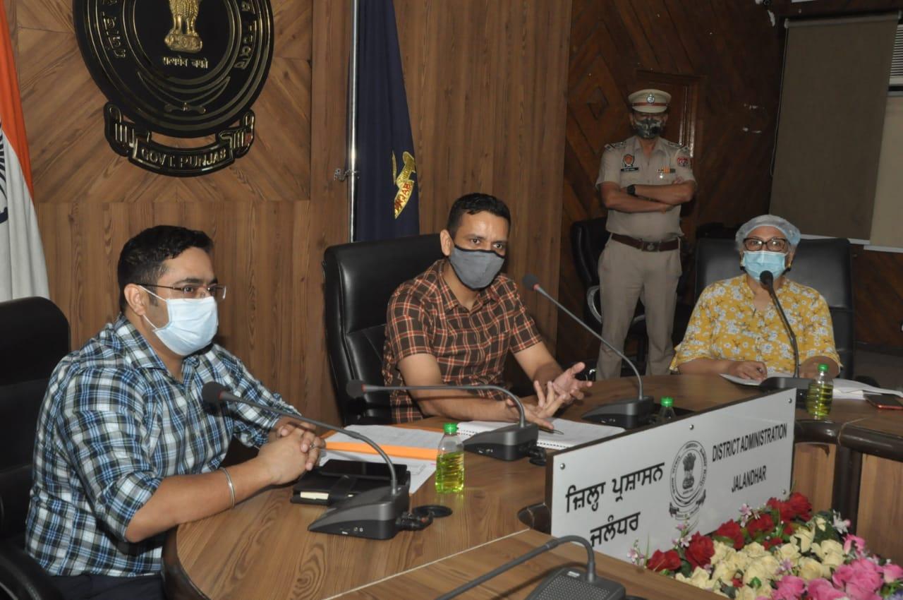 Ensure 5000 RT-PCR Tests in Jalandhar Daily-DC
