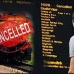 Railways cancel, divert, short terminate and origination trains