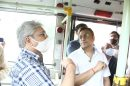 Transport minister Kailash Gahlot inspects control room and CCTV