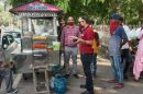 Asstt commissioner food carries out checking of street food vendors