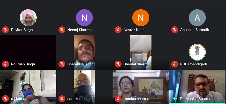 Webinar to celebrate 150 years of Mahatma Gandhi ji organised today