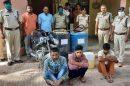 नारनौल रेलवे स्टेशन से तेल चोरी के मामले में तीन गिरफ्तार
