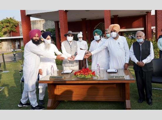 All party leaders except BJP meet Punjab Governor