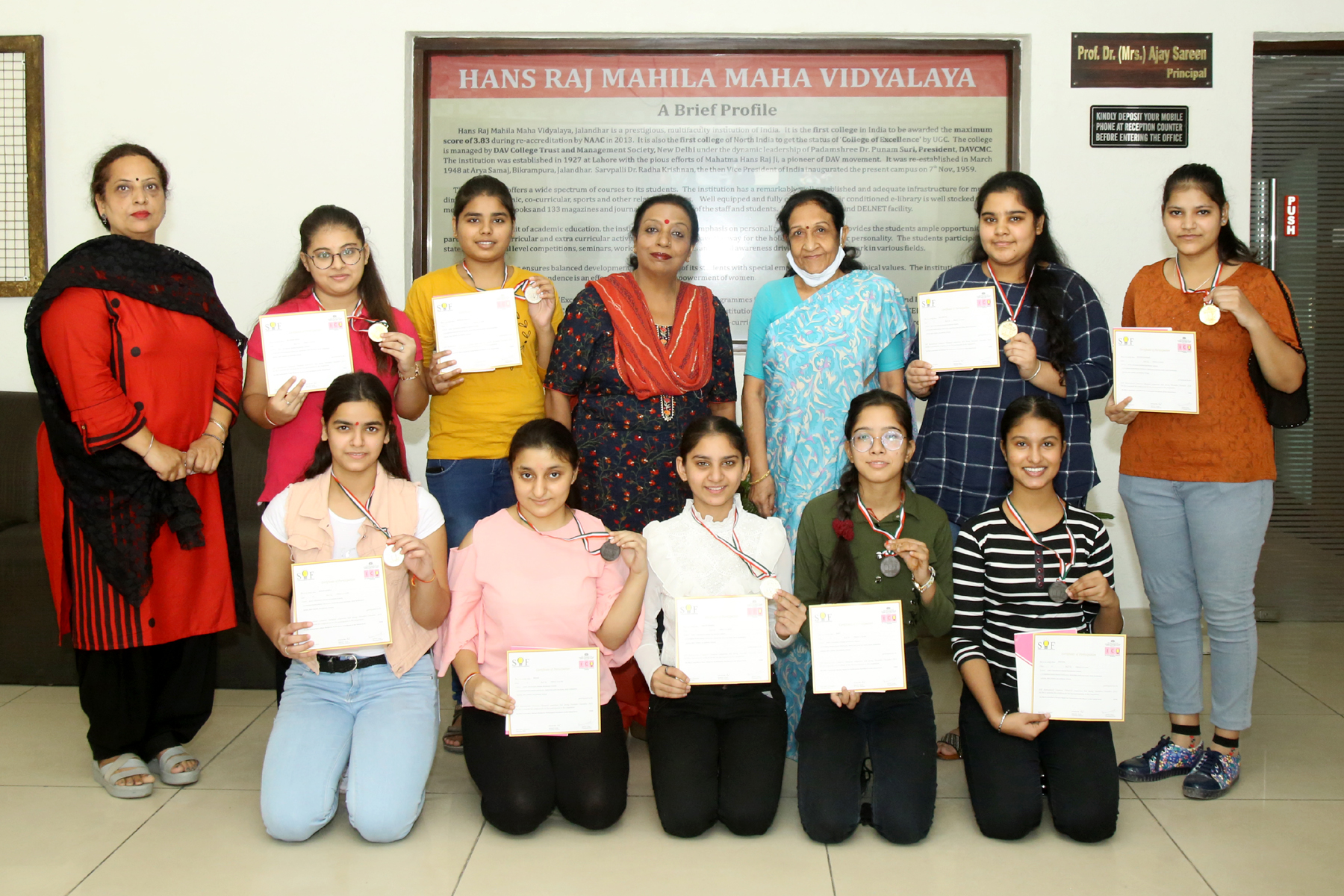 HMV students shine in Commerce Olympiad