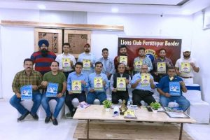 Lions Club Border released Covid-19 Awareness Posters in Ferozepur