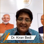 Lt. Governor of Puducherry and India's First Woman IPS Officer Dr Kiran Bedi interacted with LPU Students