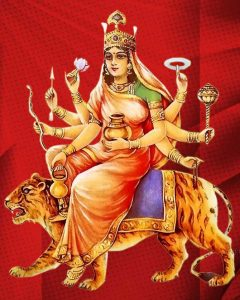 Navratri Day- 4: Chaturthi