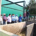 Deputy Commissioner, MC Commissioner visits Haibowal Biogas Plant
