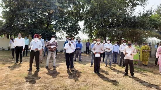 Vigilance Awareness Week-2020 begins at Ferozepur Railway Division