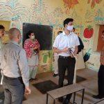 हरियाणा सक्षम टीम ने जिले के प्राथमिक पाठशाला किया दौरा