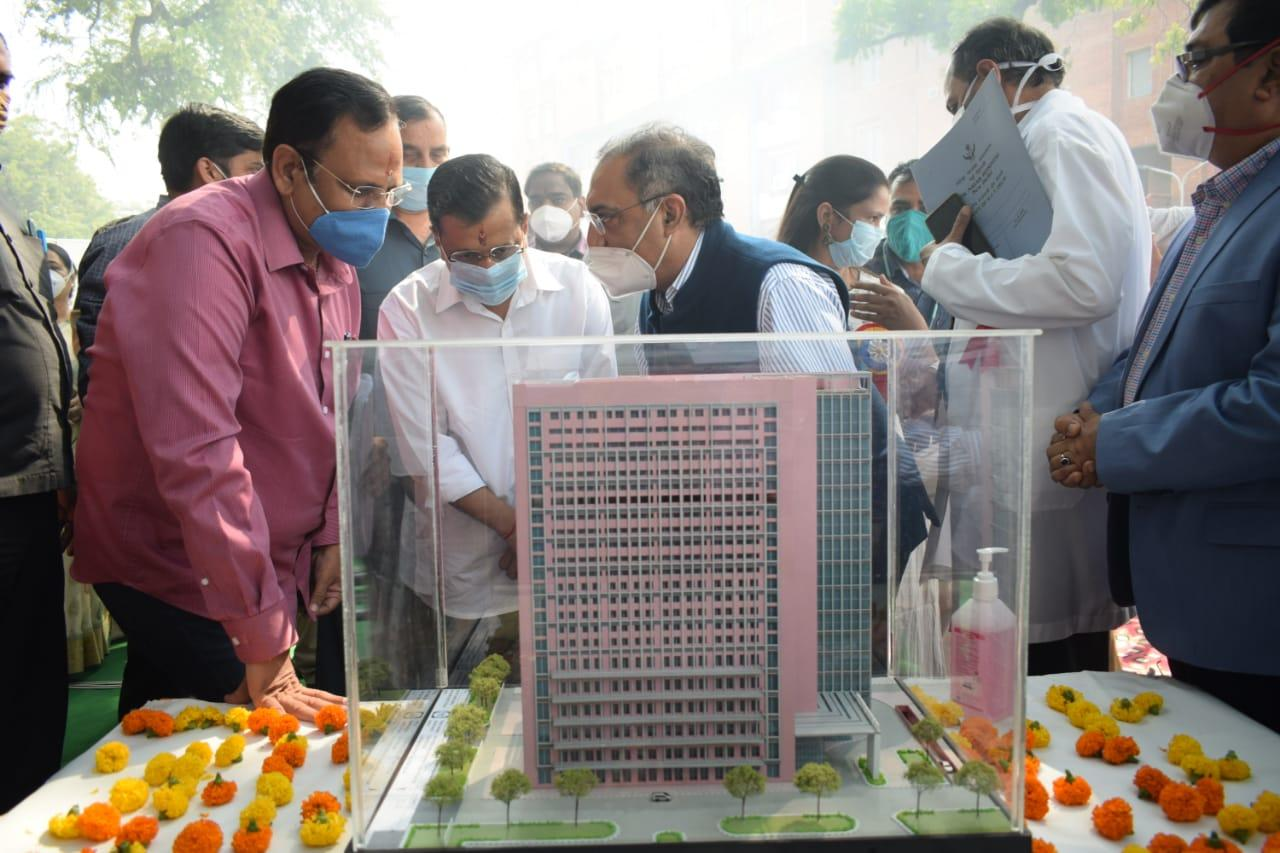 Medical technology block being added at LNJP hospital: CM