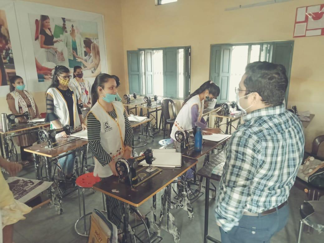 ADC interacts at Multi Skill Development  Centres
