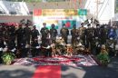 Indian Army hands over  trained Military Horses  and  Detection Dogs to Bangladesh Army