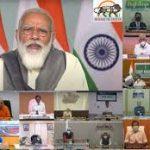 प्रधानमंत्री ने कोविड-19 से निपटने एवं प्रबंधन संबंधी तैयारियों और स्थिति की समीक्षा मुख्यमंत्रियों के साथ की