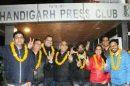 Handa-Duggal-Rajinder Nagarkoti panel sweeps Chandigarh Press Club elections