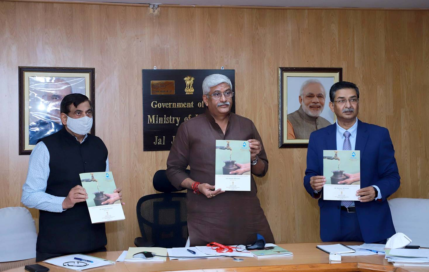 Union Jal Shakti Minister reviews progress of Jal Jeevan Mission