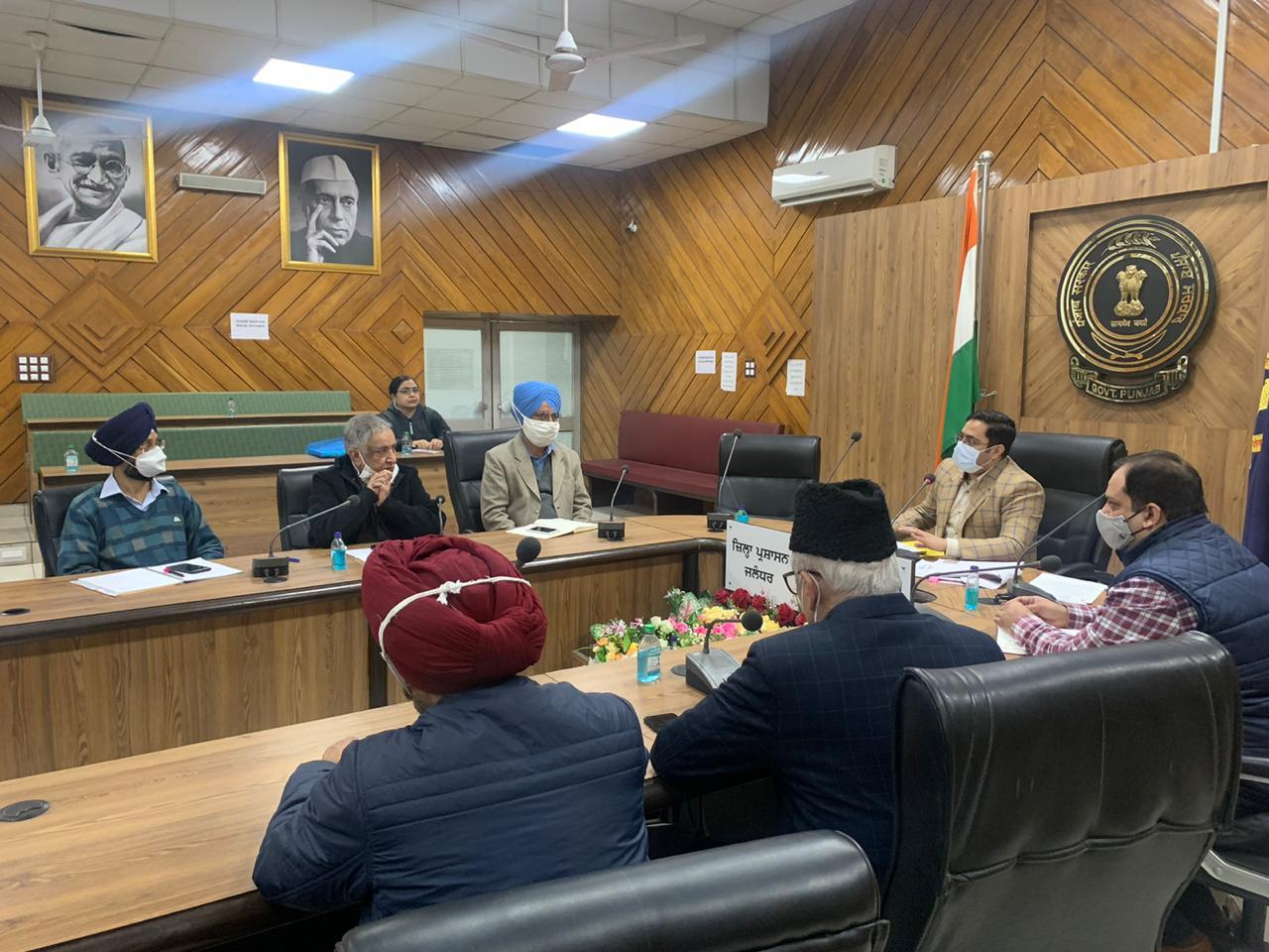 ADC reviews launching of Prime Minister Kaushal Vikas Yojna-III in December