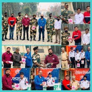 Mayank Foundation celebrates Diwali with BSF Jawans at Hussainiwala Border