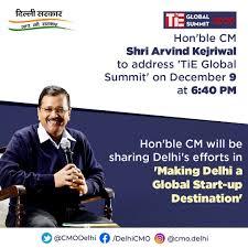 Delhi CM to address TiE Global Summit on December 9