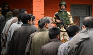 India detains 75 in Kashmir after local election