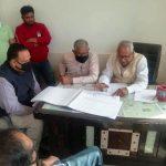 मंत्री ने की एनएच के प्रोजेक्ट डायरेक्टर के साथ बैठक, विभिन्न मुद्दों पर की चर्चा