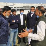 Jay Shah, Secretary BCCI Visits PCA New Cricket Stadium