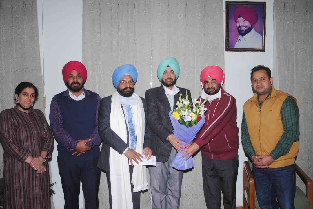 Dr. Harjit Singh Takes Over as the Head of Mathematics Department