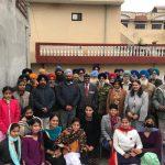 NSS Volunteers of HMV celebrated Lohri