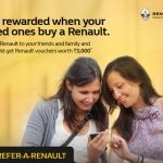 Refer a Renault to your friends