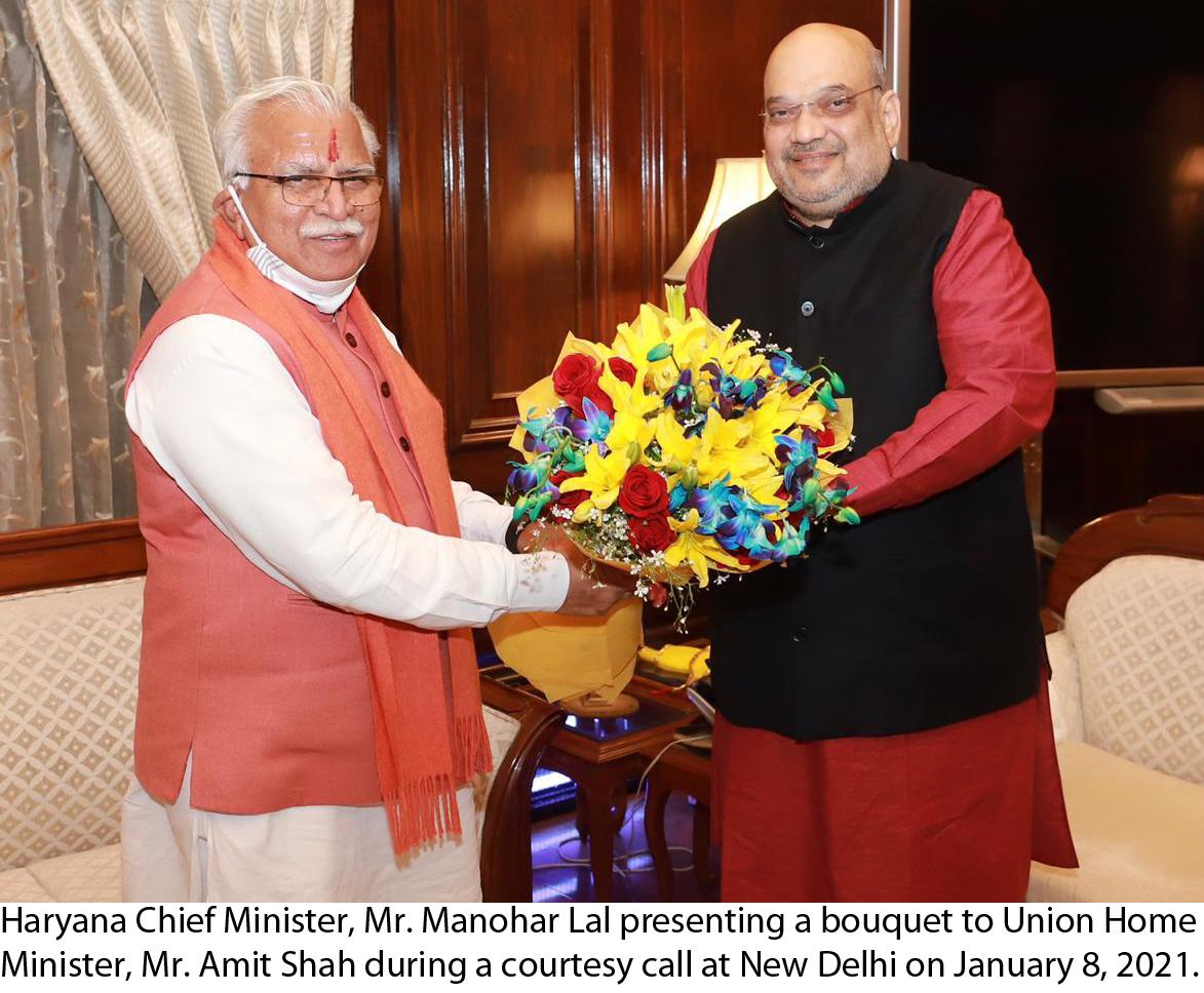 Haryana CM express hope New Farm Acts can only be resolved through  mutual dialogue.