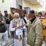 गौड़ ब्राह्मण सभा के प्रधान राकेश महता ने मंत्रि  को ज्ञापन सौंपा।