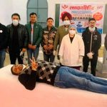 Lady Doctor among 51 donors at Blood Donation Camp organized in Ferozepur