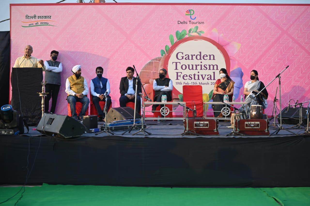 Delhi Government organises 34th Garden Tourism Festival around theme #ColoursOf Nature*
