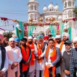 Harpal Singh Cheema joins Shobha Yatra as a devotee